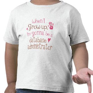 Database Administrator (Future) Infant Baby T-Shir Tee Shirt