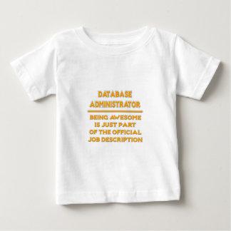 Database Administrator .. Job Description Shirt