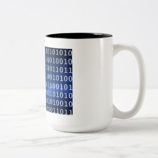 Database System for Reports and Data Analysis Two-Tone Coffee Mug