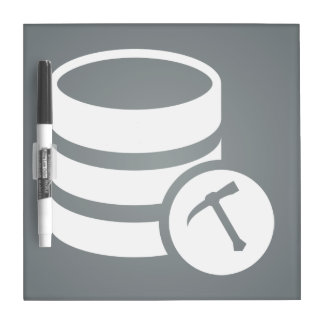 Database Transfers Pictograph Dry Erase Boards