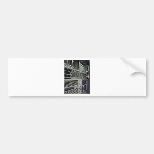 datacenter computer servers rack bumper stickers