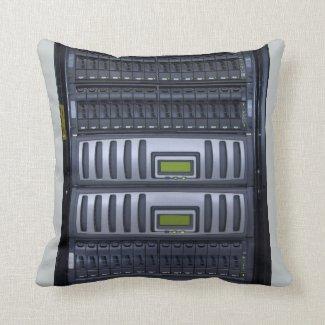 datacenter computer servers rack pillows
