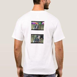 datamosh backstyle #17 T-Shirt