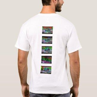 datamosh backstyle #24 minimal T-Shirt