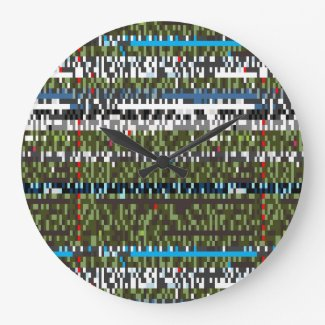 Datascapes Total Swagger Clock