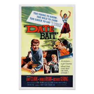 """Date Bait"" Poster"