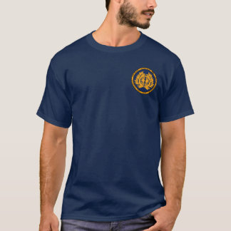 Date Clan Gold & Blue Seal Shirt