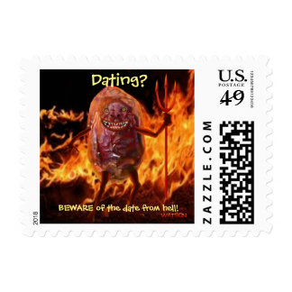 DATE FROM HELL - Postage stamps