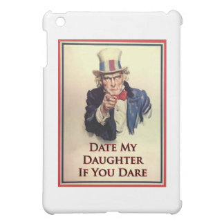 Date My Daughter Uncle Sam Poster iPad Mini Covers