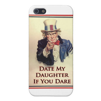 Date My Daughter Uncle Sam Poster Cases For iPhone 5