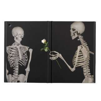 Date night Cute skeleton couple iPad Air Cases