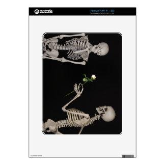 Date night Cute skeleton couple iPad Skins
