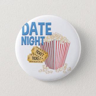 Date Night Pinback Button