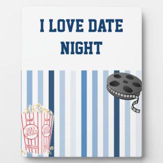 Date Night Plaque