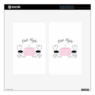 Date Night Skins For Kindle Fire