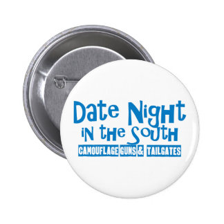 Date Night South Camouflage Guns Tailgates Blue Buttons