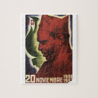 Date of Durruti's death on_Propaganda Poster Jigsaw Puzzle