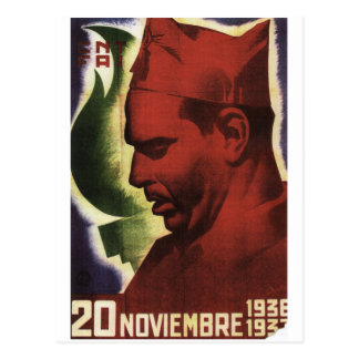Date of Durruti's death on_Propaganda Poster Postcard
