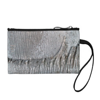 Date Palm Tree Trunk Coin Wallet