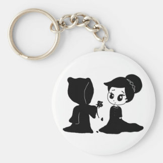 Date with Death Keychain