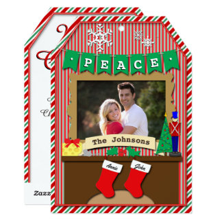 Dated 2-Stocking Night Before Christmas Card