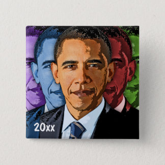 Dated Collectible Barack Obama Keepsake Souvenir Button