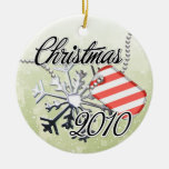 Dated Military Christmas Ornament