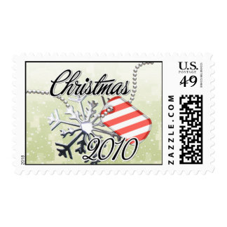 Dated Military Christmas Postage