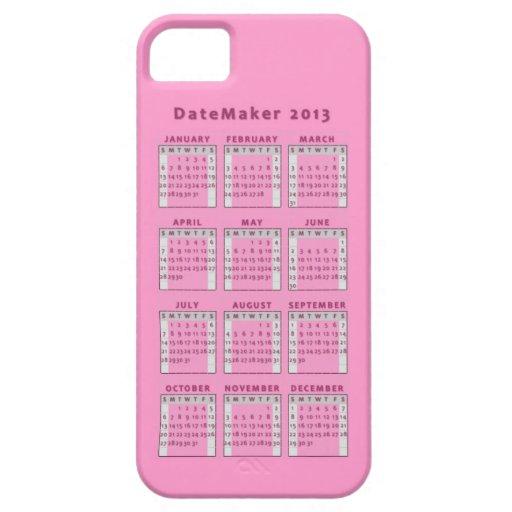 Datemaker 2013 iPhone 5 coberturas