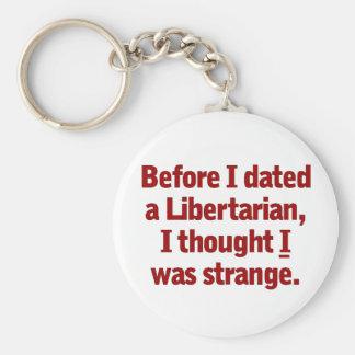 Dating a Libertarian Keychain