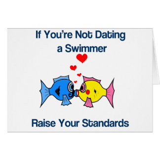Dating a Swimmer Card