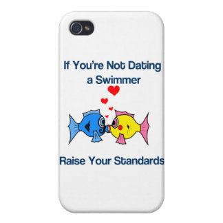 Dating a Swimmer iPhone 4/4S Case