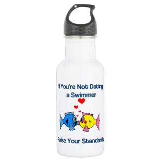 Dating a Swimmer Water Bottle
