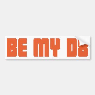 dating car bumper sticker
