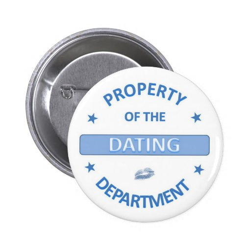 Dating Department 2 Inch Round Button