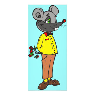 Dating Mouse Rack Card Design
