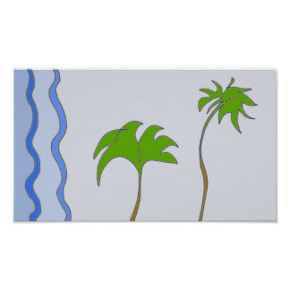 Dating Palms Poster