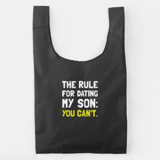Dating Son Rule Reusable Bag