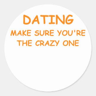 dating round stickers