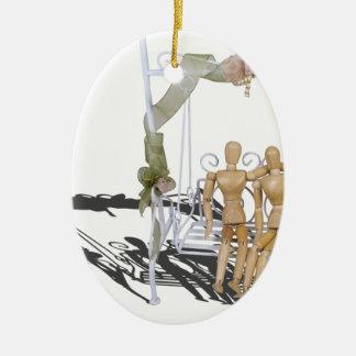 DatingOnGardenSwingSet103013.png Ceramic Ornament
