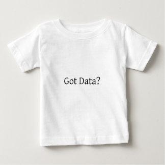 ¿Datos conseguidos? Playera De Bebé
