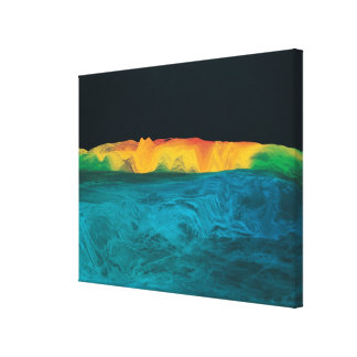 Datos de alta resolución de la gravedad lona estirada galerias