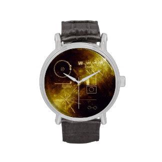 Datos del disco de oro del viajero relojes