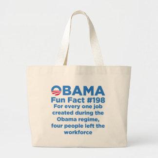 Datos divertidos de Obama Bolsa