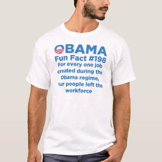 Datos divertidos de Obama Playera