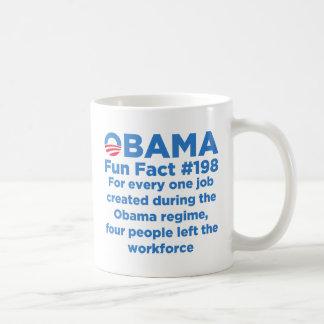 Datos divertidos de Obama Taza