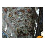 Datos en la capilla de Sistine Postal