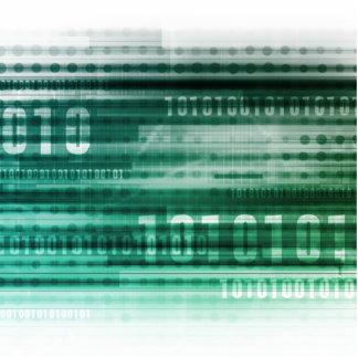Datos y computación grandes de la nube pin fotoescultura