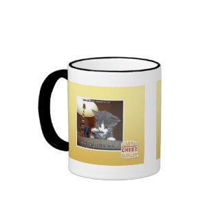 Dats one small step fur me ringer coffee mug
