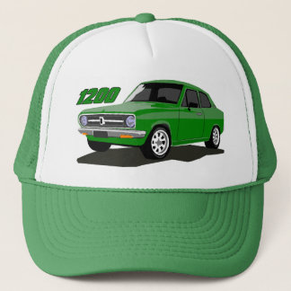 DATSUN 1200 Sedan Green Trucker Hat